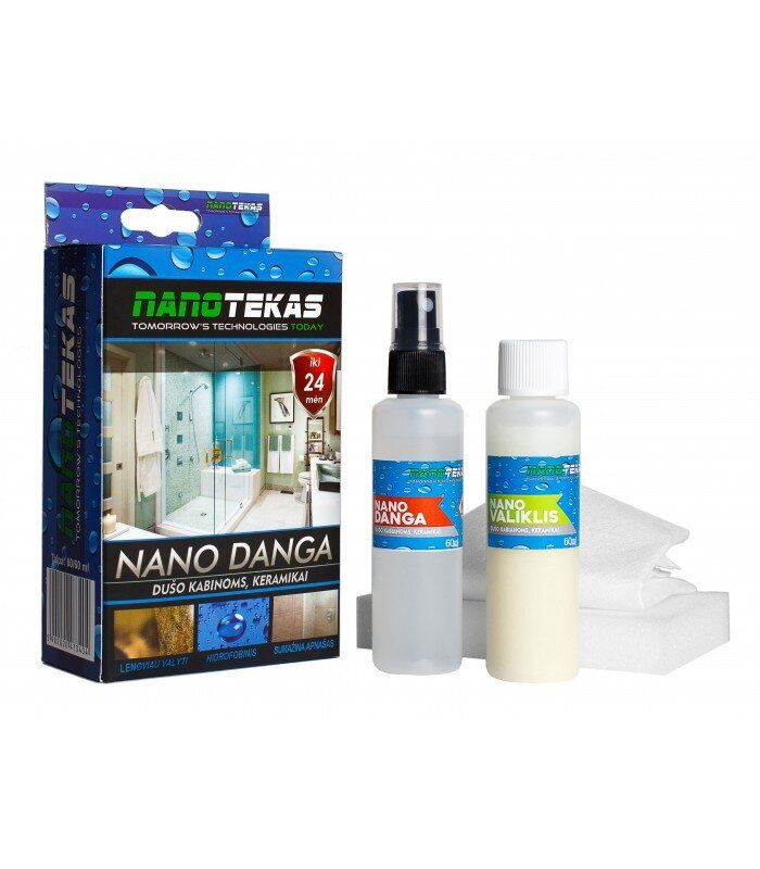 Нанопокриття для душових кабін, скла і кераміки фото